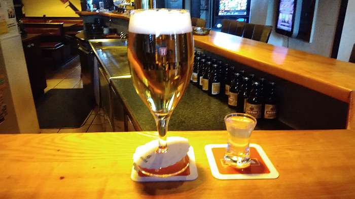 Bier und Ouzo bei Tasso
