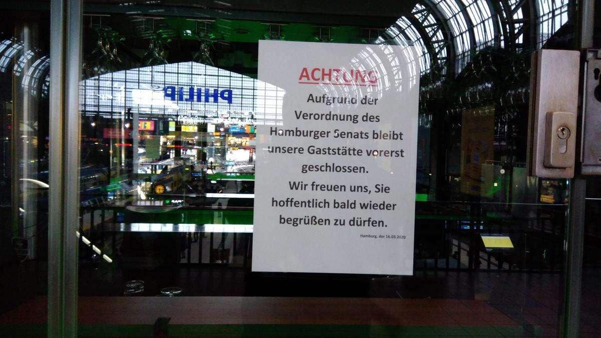 Kneipen in Hamburg sind geschlossen